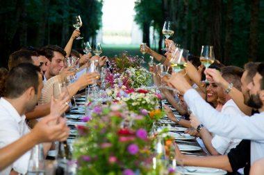 Esküvői illemtan, önfeledt hangulat az esküvői vacsorán