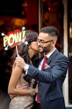 Szuperhős esküvői téma