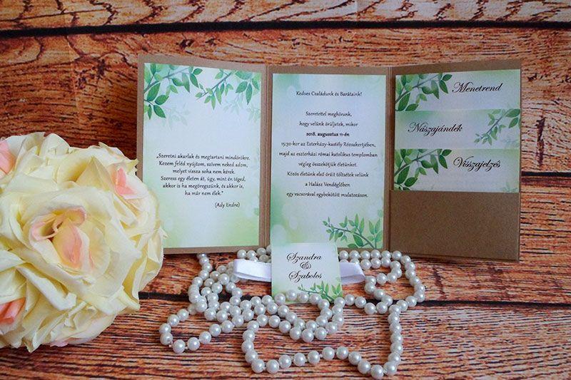 Betty Kreatív – esküvői meghívók