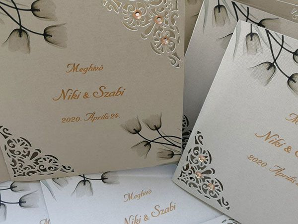 Hani Design – esküvői meghívók